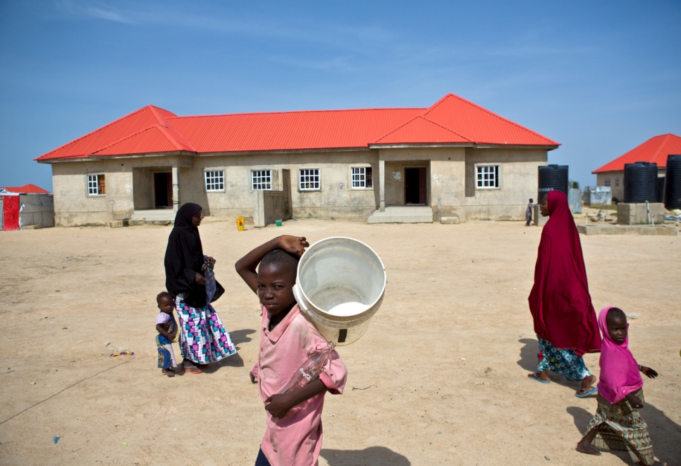Nigeria. Displaced by Boko Haram