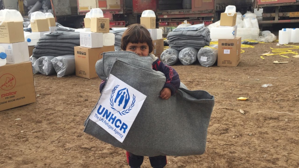 UNHCR STEPS UP HELP AS MORE WEST MOSUL FAMILIES DISPLACED