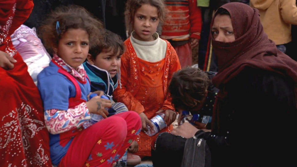 Iraq seeking a safe space after fleeing Mosul fighting