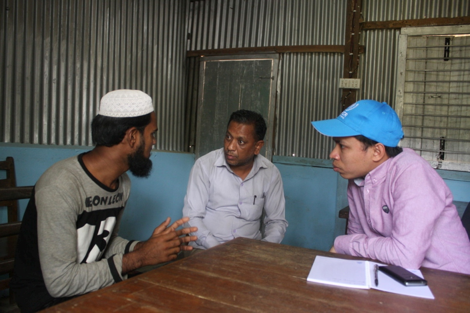 Rohingya new arrivals in Bangladesh