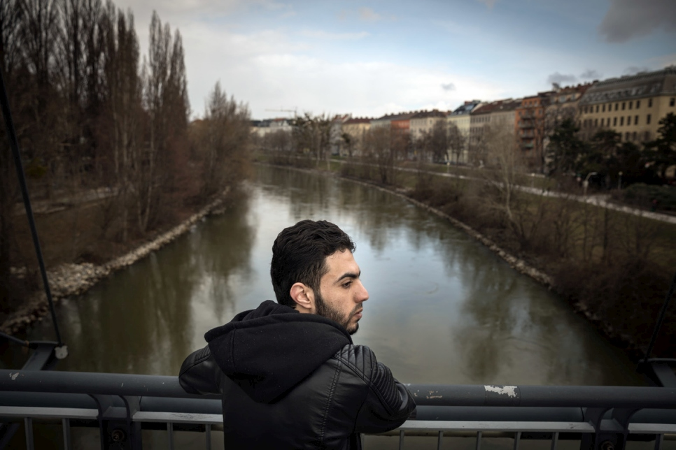 Austria. Refugees long for reunion with loved ones left behind.