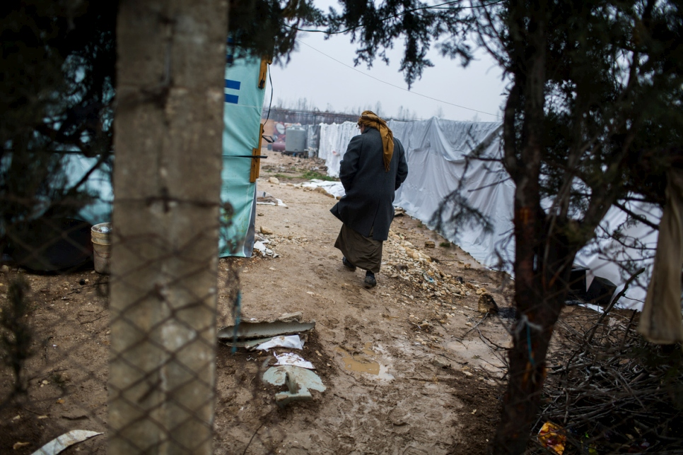 Lebanon. Syrian refugees facing the winter