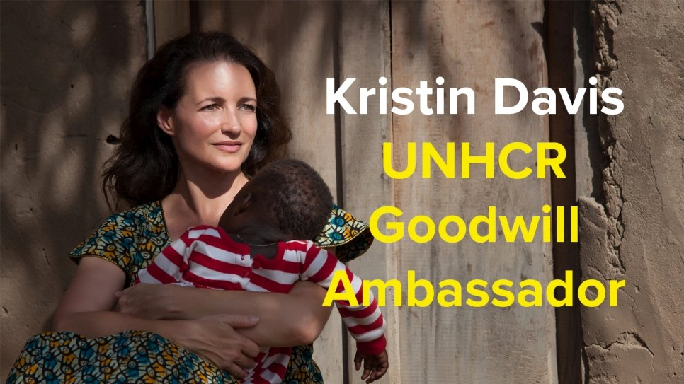 Kristin Davis appointed as UNHCR Goodwill Ambassador