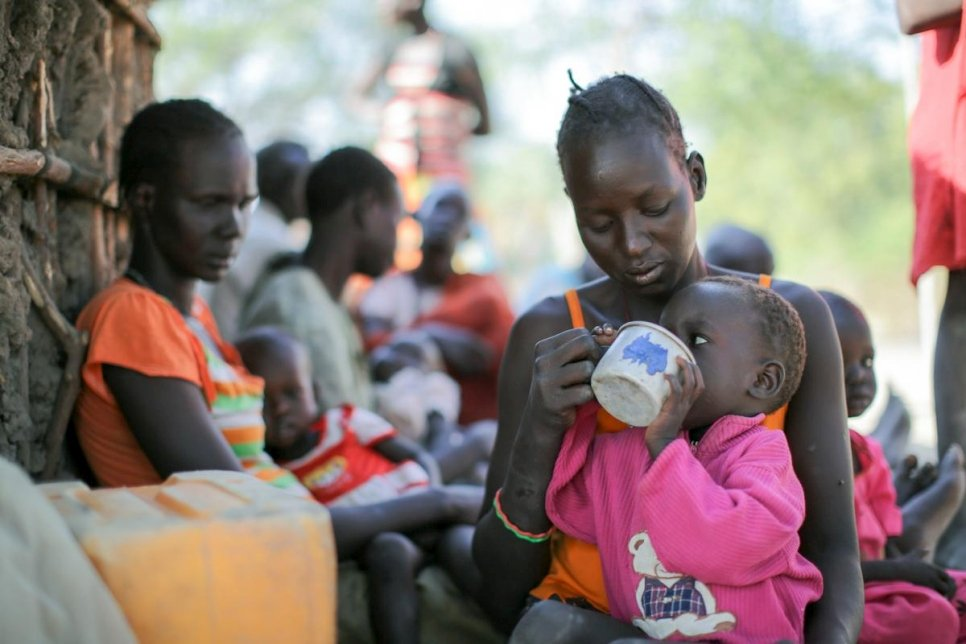 South Sudan. War and hunger drive displacement