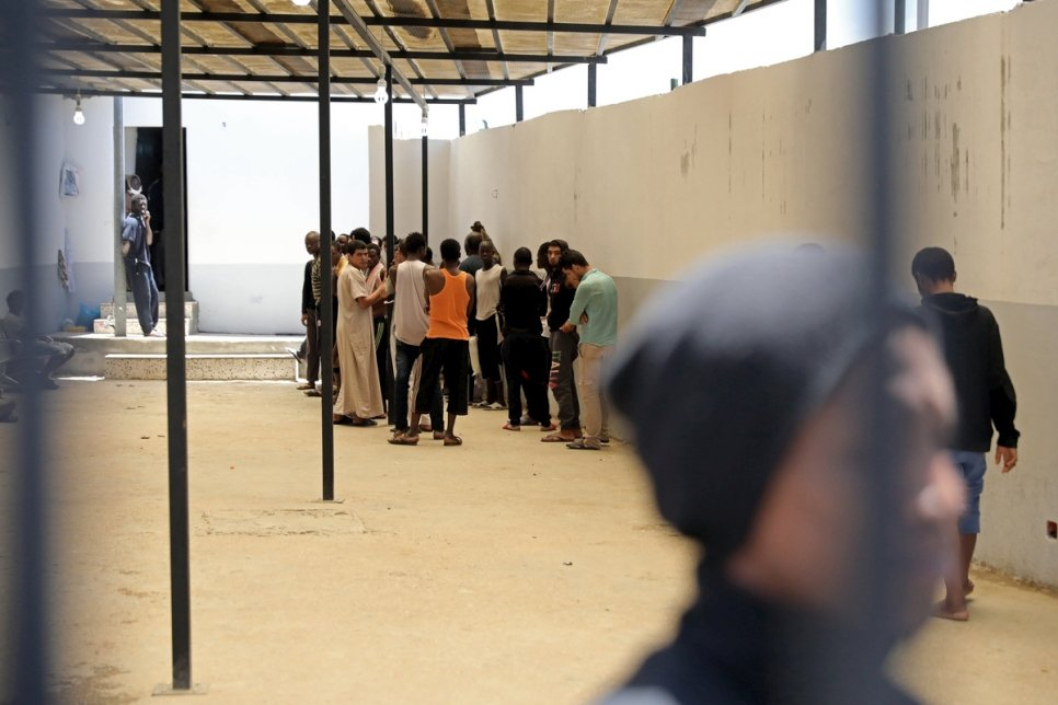 Libya. UN High Commissioner for Refugees's visit