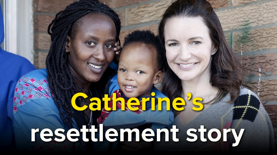Kristin Davis resettlement video thumbnail