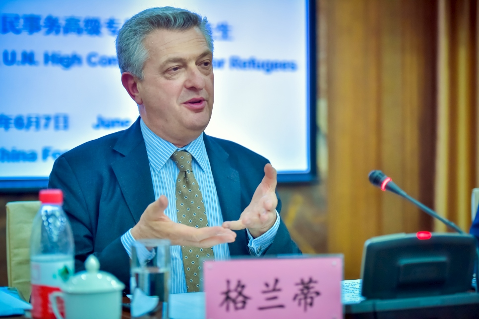 China. High Commissioner at China Foreign Affairs University