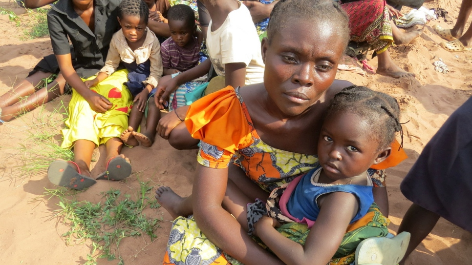Angola. Congolese refugees flee violent attacks