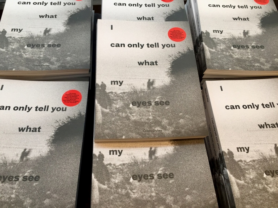 "Book launch: ""I can only tell you what my eyes see"""
