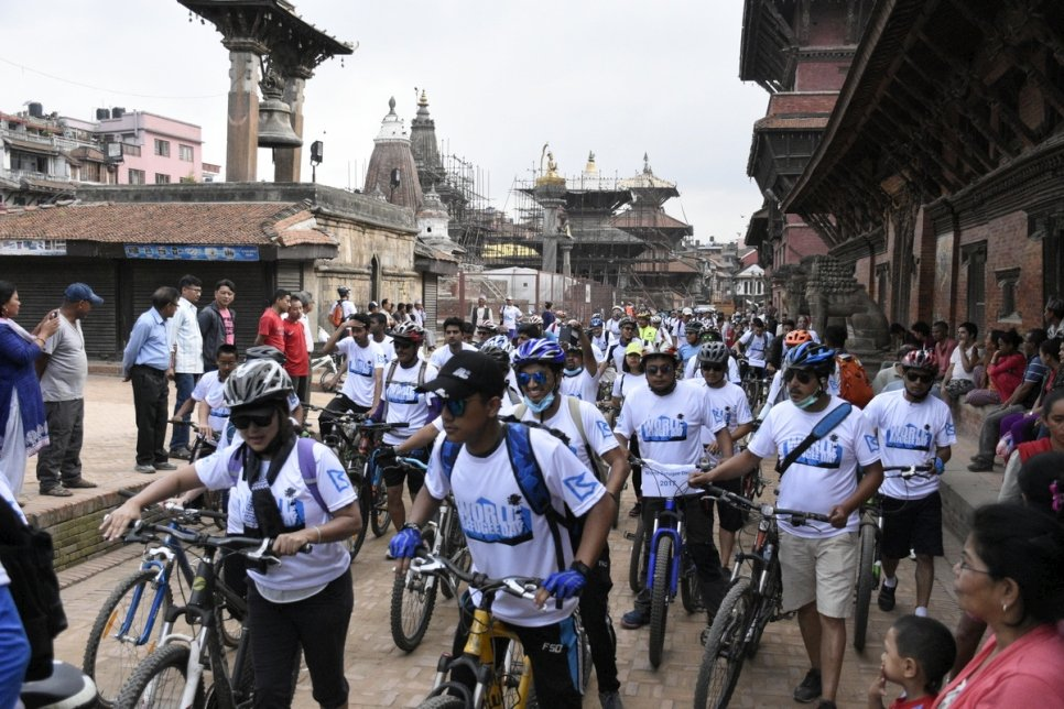 Nepal. 2017 Ride for Refugees