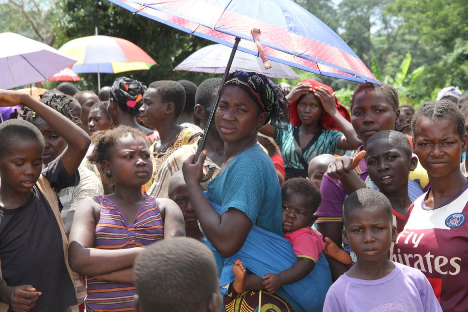 Democratic Republic of the Congo. CAR violence driving more refugees into northern DRC
