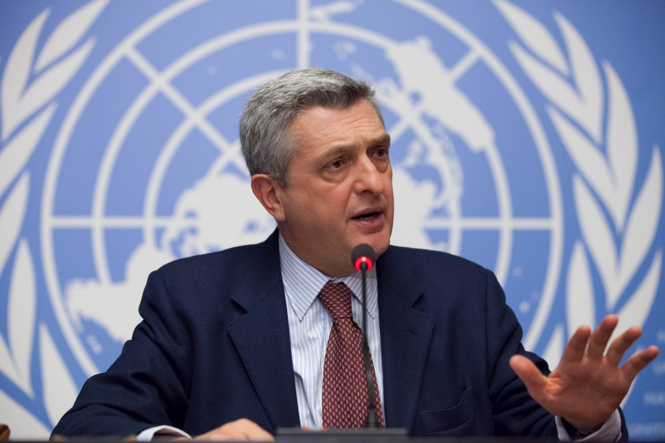 United Nations High Commissioner for Refugees, Filippo Grandi.