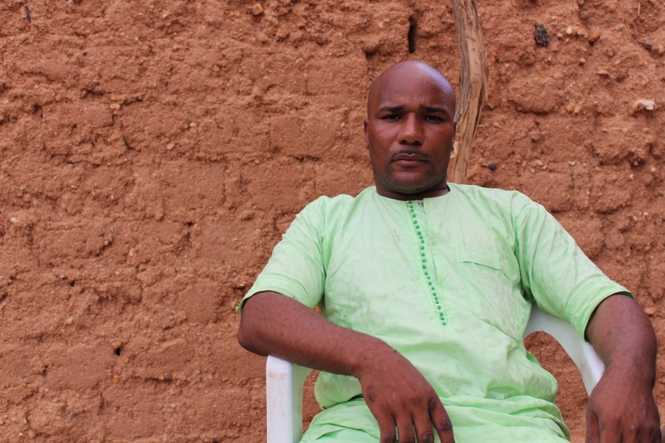 Niger. Bashir - a self-proclaimed ex-people smuggler in Agadez