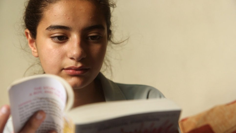 Syrian sisters excel at school in Lebanon