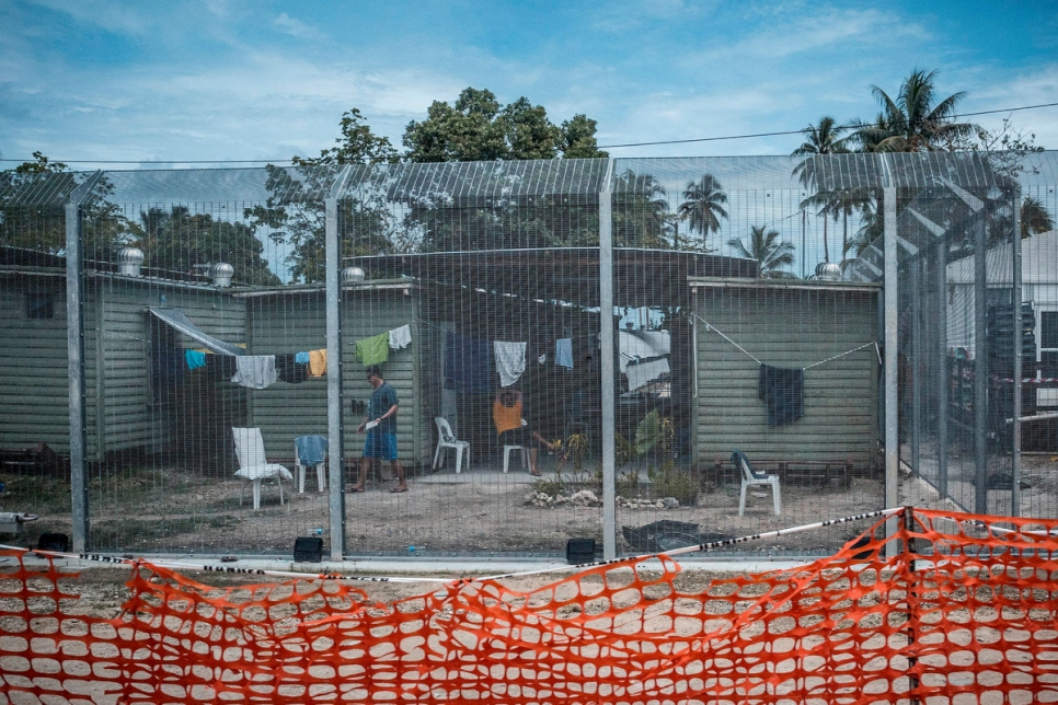 Papua New Guinea. UNHCR supports asylum-seekers' struggle for fair treatment