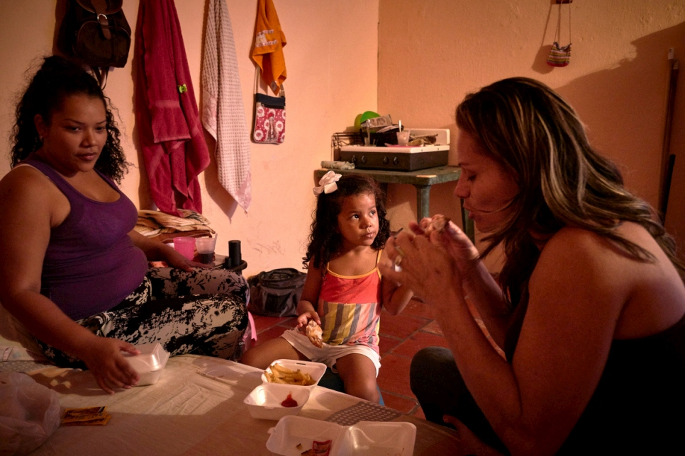 COLOMBIA - Venezuelan migrants in Cucuta who have fled their country because of current crisis
