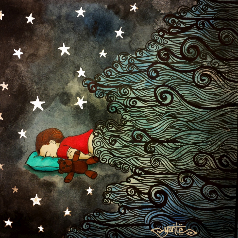 Malaysia. illustration of Alan Kurdi