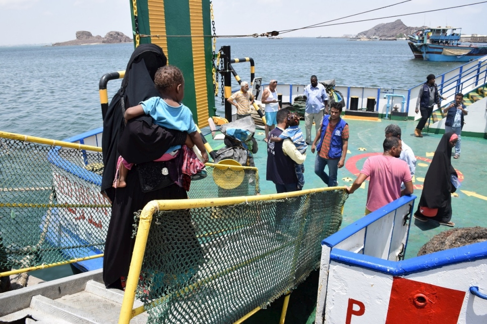 Yemen. Assisting spontaneous returns of Somali refugees