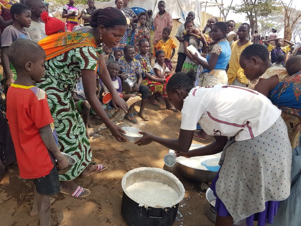 Zambia. Congolese refugees flee violence and insecurity