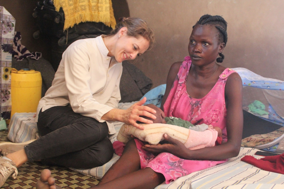 Unhcr south sudan must not be forgotten every crisis is important because every life is - Princesse sarah 40 ...