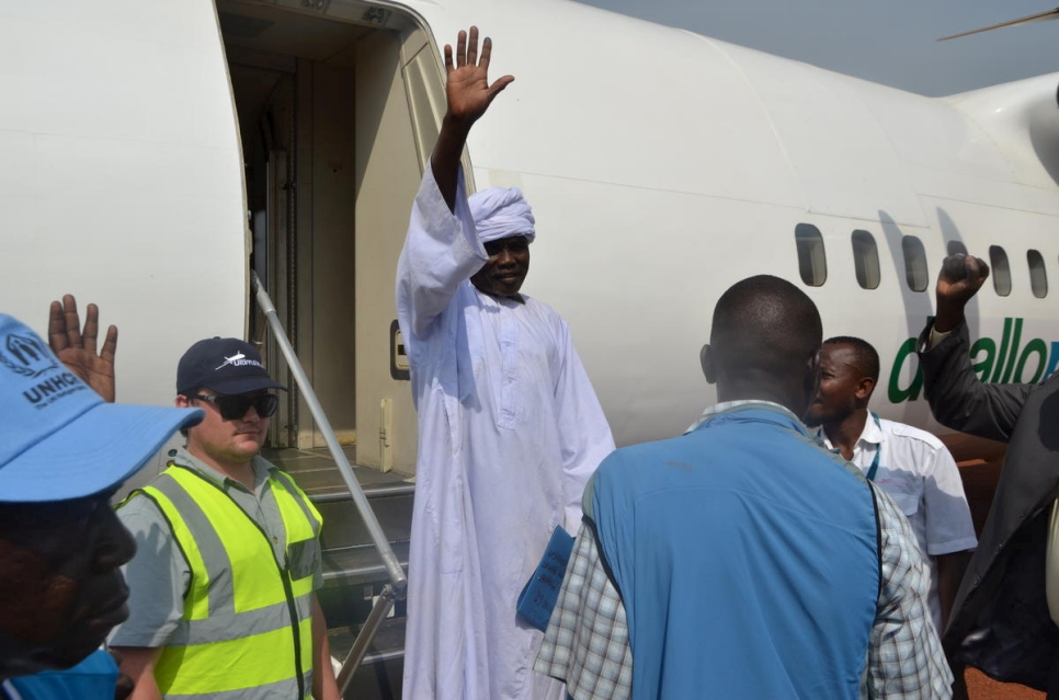 Start of voluntary repatriation of Sudanese refugees