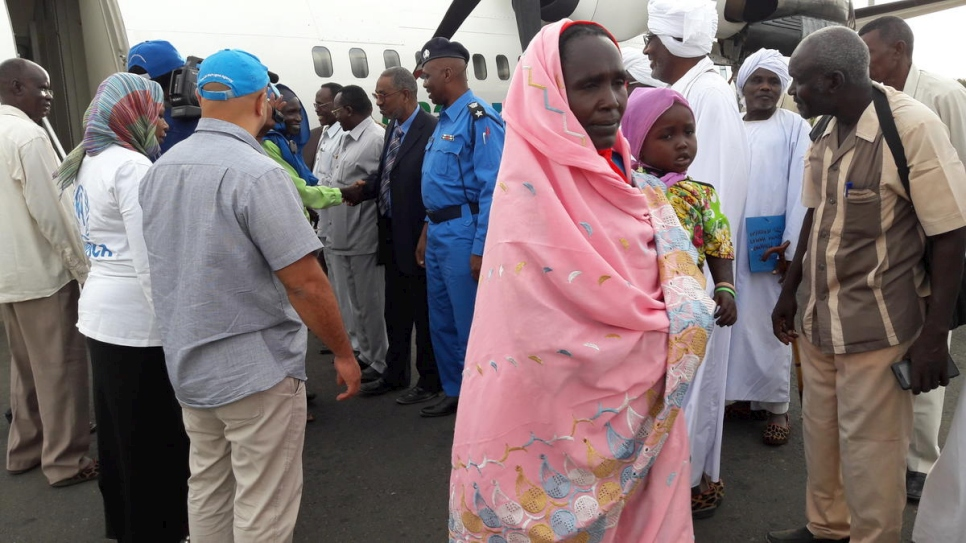 Sudan. Voluntary repatriation of Sudanese refugees returning to Sudan from Central African Republic