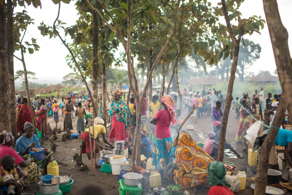 Democratic Republic of the Congo. Finding refuge from war in South Sudan