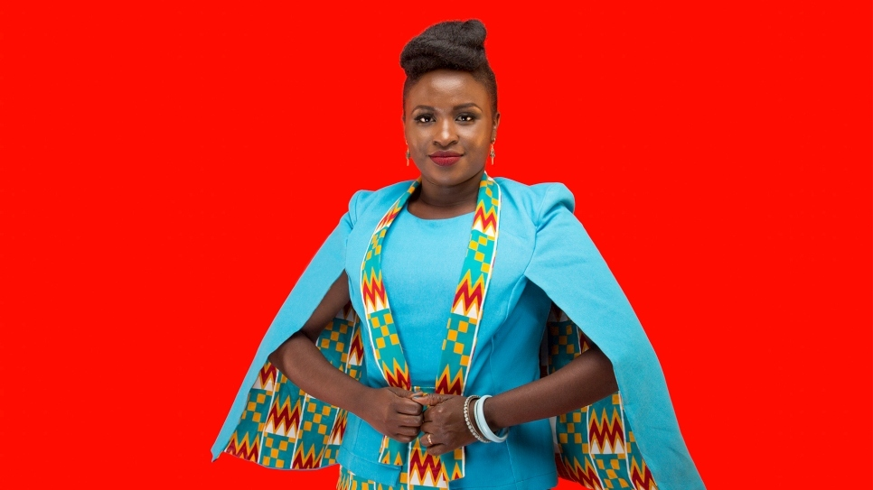 Mercy Masika is a musical artist known for her gospel and faith-based music.  In 2017, Mercy was made a UNHCR LuQuLuqu High Profile Supporter and visited Kakuma refugee camp in Kenya.  She spoke to women who had overcome great trauma and visited children in a local school.