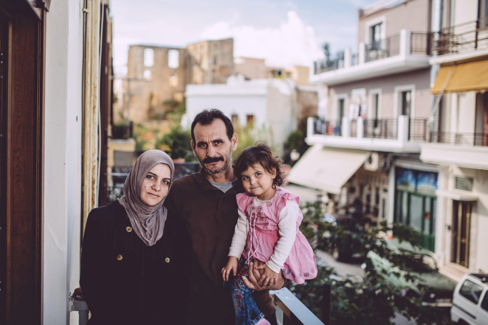 Greece. A Syrian family returns home to Crete after a century away