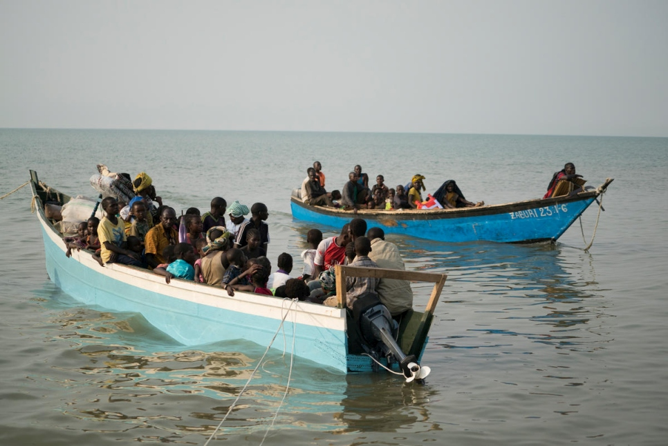 The boats often carry more than 250 people and take up to 10 hours to cross.