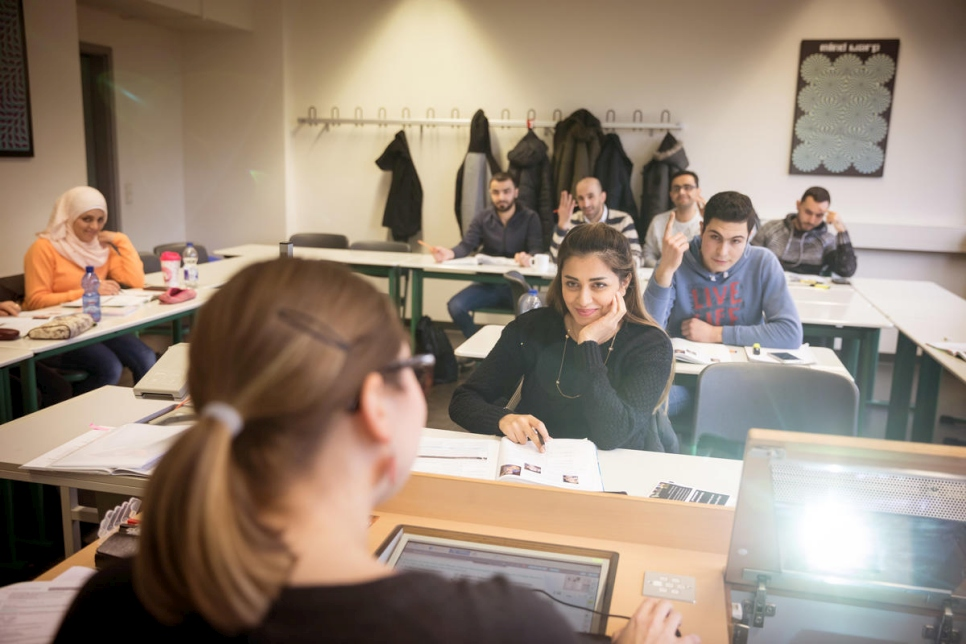 Germany. Refugee Teachers Program at University of Potsdam.