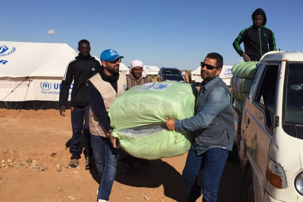 Libya. UNHCR increasingly concerned over stranded Tawergha people