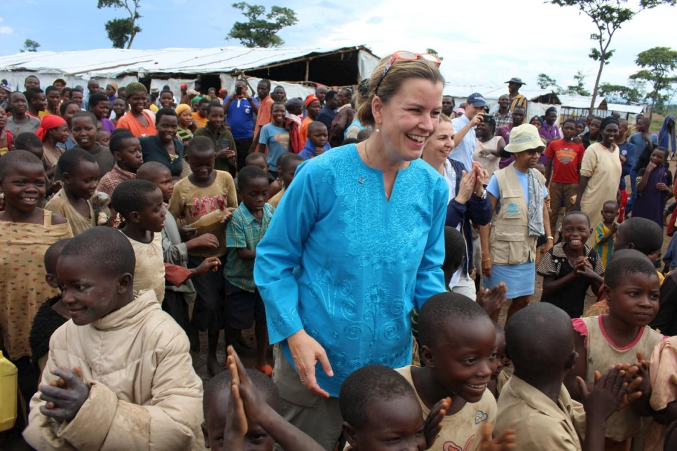 Tanzania. Deputy High Commissioner Kelly T. Clements' visit