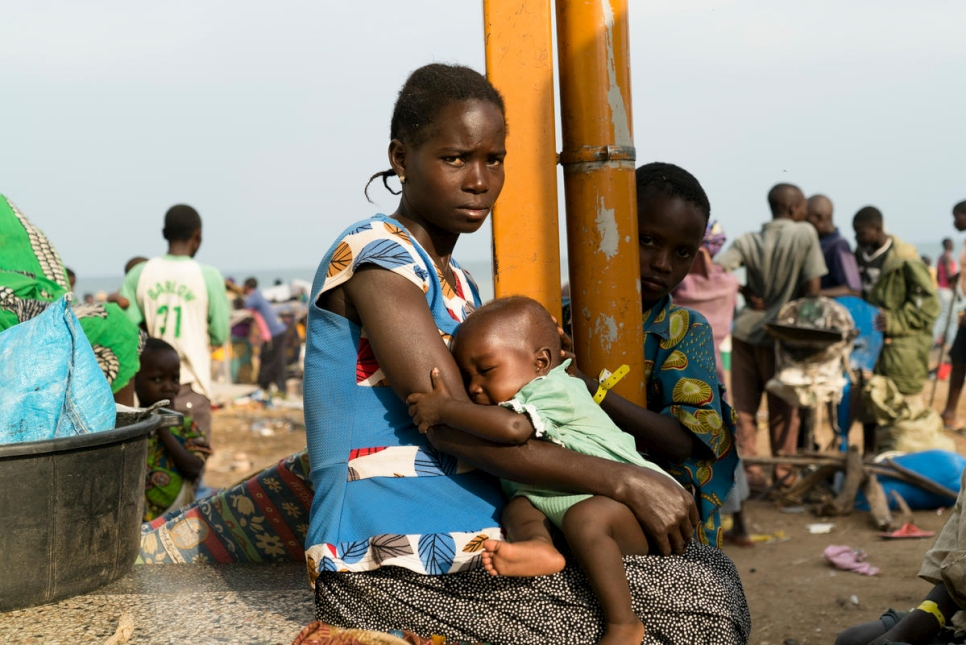Uganda. Growing numbers of Congolese refugees seek safety