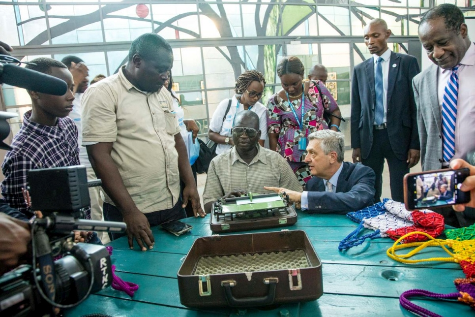 Democratic Republic of the Congo. High Commissioner, Filippo Grandi, visits urban refugees Kinshasa