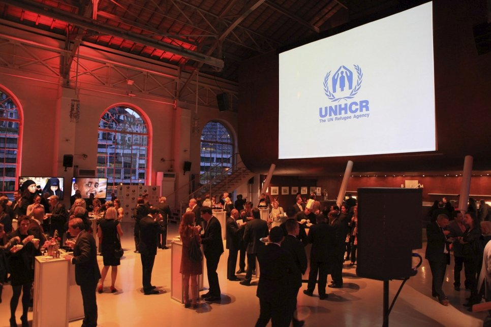 UNHCR's 2012 Nansen Award ceremony held at the Batiment des Forces Motrices, Geneva, Switzerland.