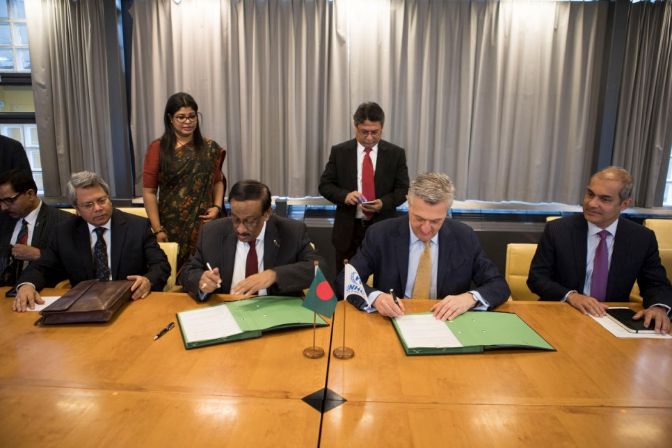 Switzerland. MOU between UNHCR and Bangladesh