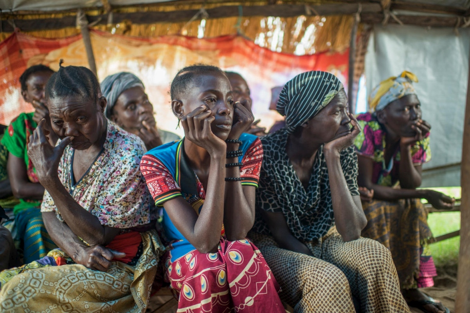 Democratic Republic of the Congo. Displaced women and children face violence and forced labour