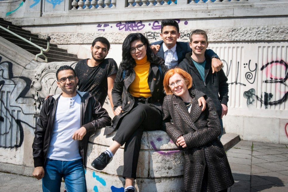 Unhcr Refugees And Music Students Strike A Chord In Vienna