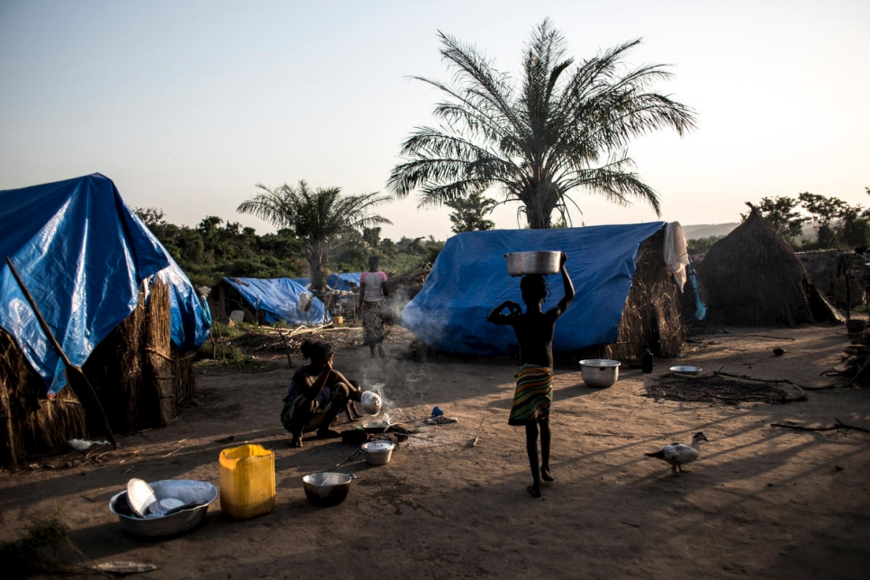 Democratic Republic of the Congo. Exiled across the river, Central African refugees long for home
