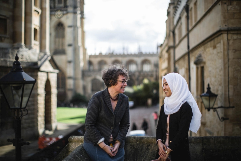 Kate Clanchy quickly recognized Shukria's talent for poetry. After joining the poetry group at her local school, the 15-year old refugee soon found her voice.