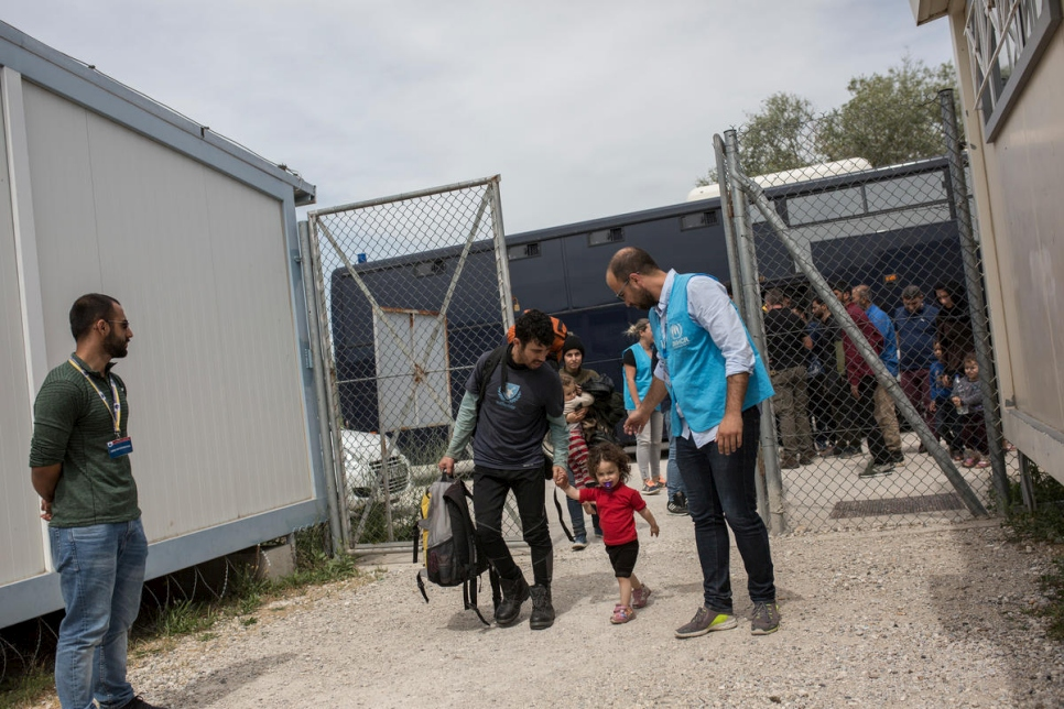 Greece. Arrivals from Turkey inundate Evros reception centre