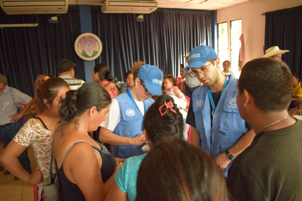 Guatemala. UNHCR response to population affected by the Volcán de Fuego eruption