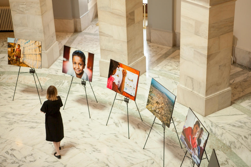 United States. Rohingya photo exhibition shown in U.S. Congress for World Refugee Day