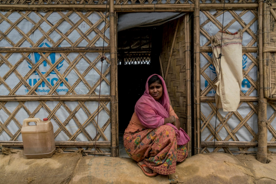 Bangladesh. Rohingya refugees in Kutapalong camp