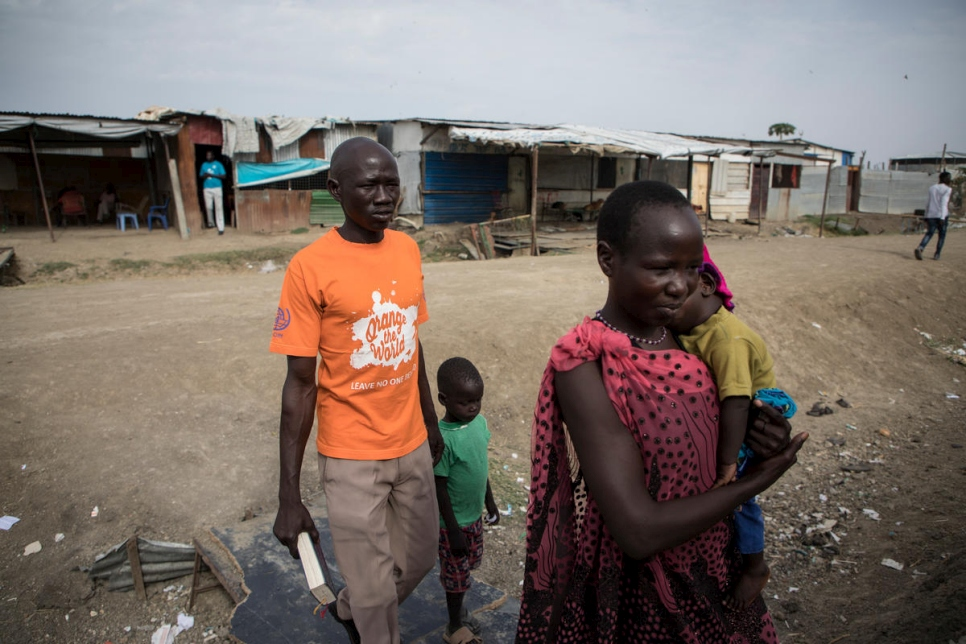 South Sudan. Fighting depression is vital for those trapped by conflict