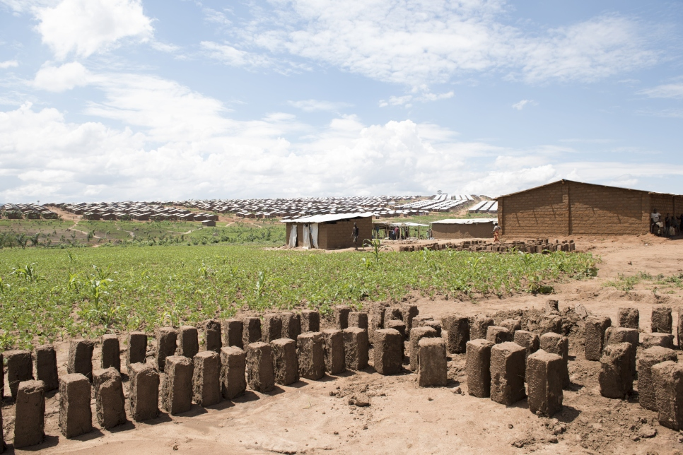 Mud bricks used for the construction of dual shelters