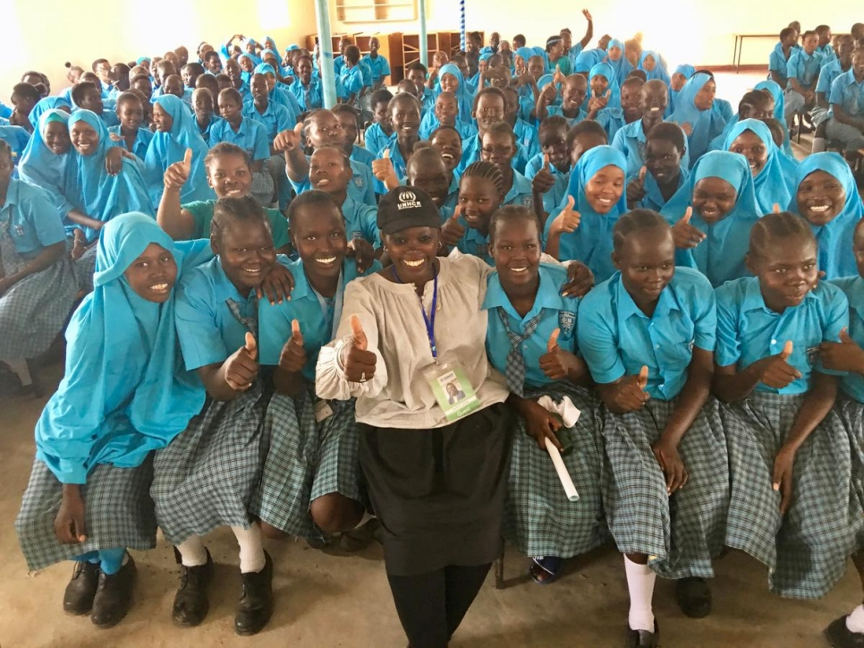 Kenya. The Award Winning Computer Technologist who did not go to School inspires hope in Kakuma
