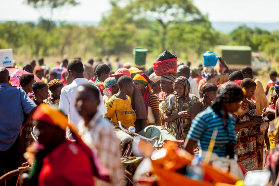 Tanzania. Market provides opportunities for Burundian refugees