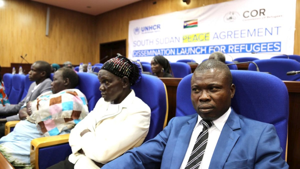 Sudan. Refugee representatives set to meet South Sudan peace talk parties